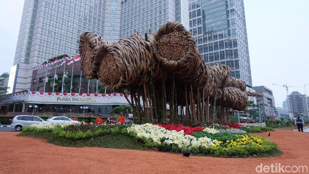 Sama Seperti di Frankfurt, Joko Avianto Gunakan 3 Jenis Bambu