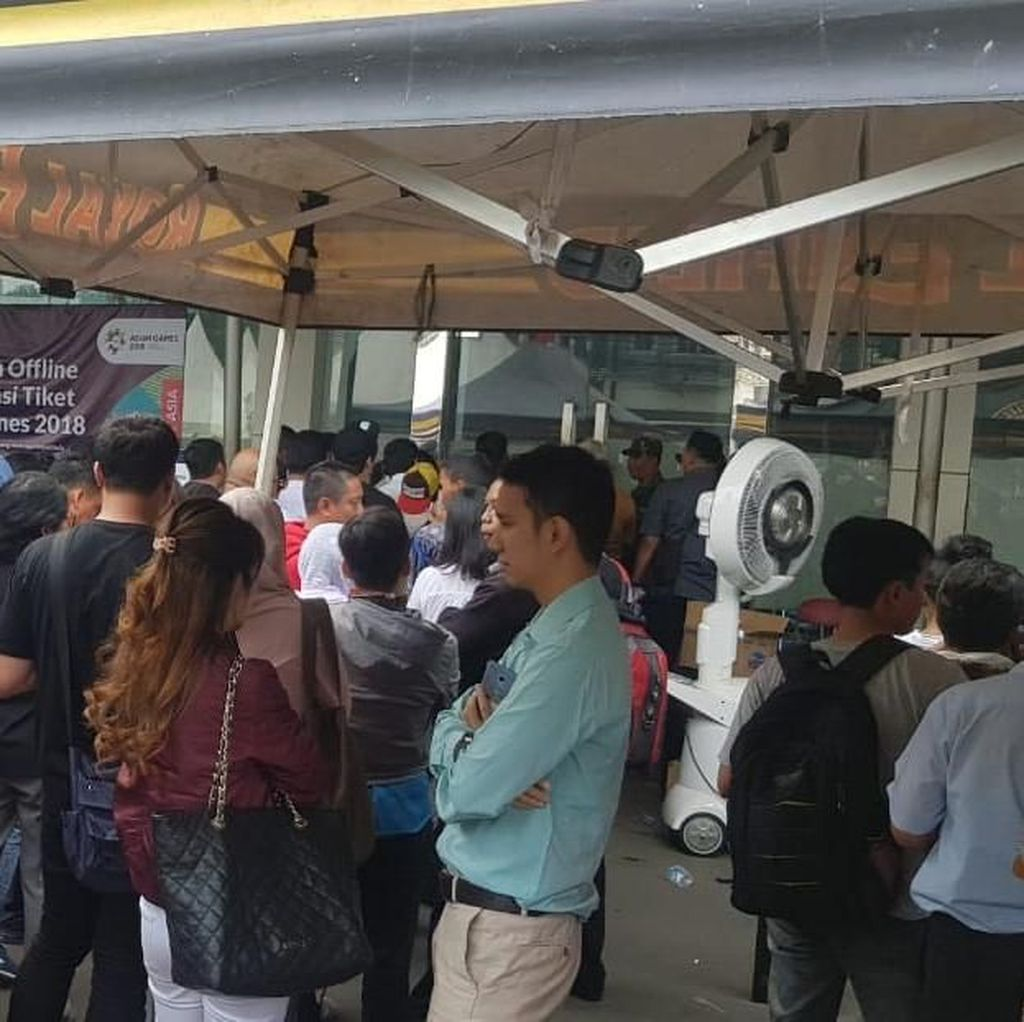 Penukaran Tiket Opening Ceremony Asian Games Dikeluhkan