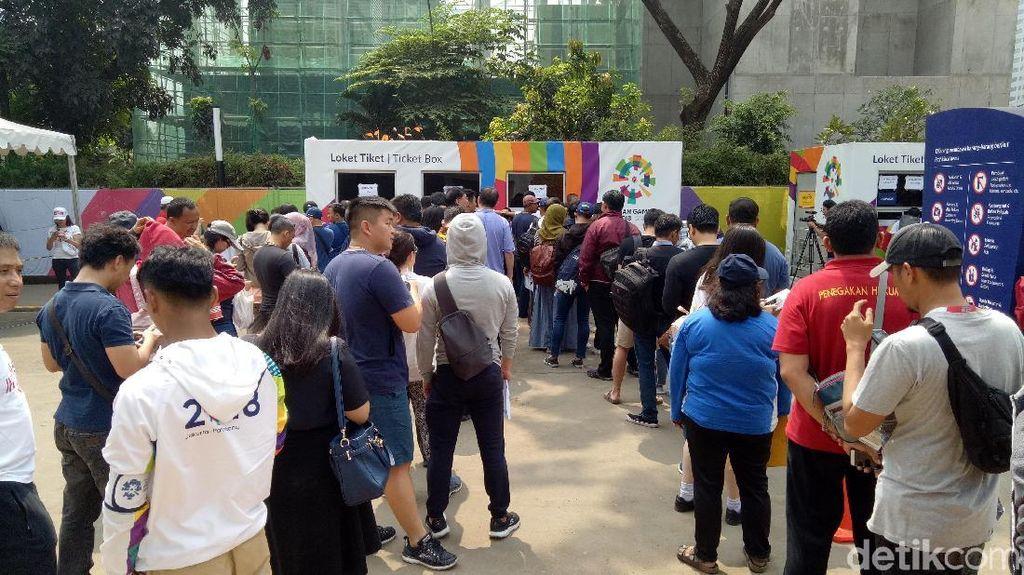 Penukaran Tiket Opening Ceremony Asian Games Cuma di Pintu 7 GBK!