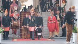 Jokowi Keluar Istana, Upacara Detik-detik Proklamasi Dimulai