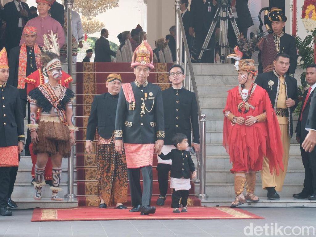 Jokowi ke Luar Istana, Upacara Detik-detik Proklamasi Dimulai