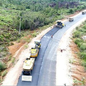 Jalan Perbatasan RI-Malaysia di Kalimantan Dibangun, Keren Lho