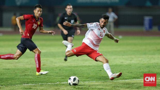 Stefano Lilipaly mencetak satu gol dan dua assist dalam laga terakhir Timnas Indonesia U-23 di laga terakhir Grup A.