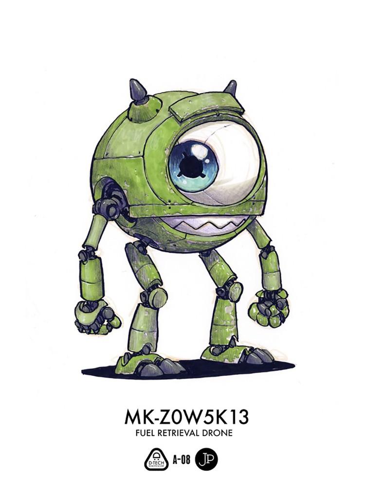 Keren Ketika Karakter Game Dan Kartun Berubah Jadi Robot
