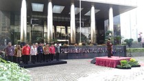 Agus Rahardjo Pimpin Upacara HUT RI di KPK