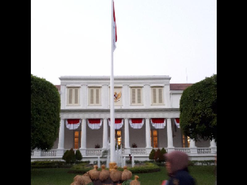 Foto: Suasana Jelang Upacara Bendera di Istana