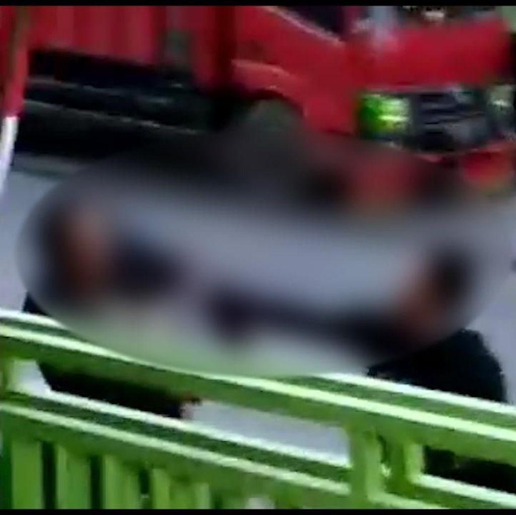 Video Aksi Pembacokan di Sukabumi, 3 Pelaku Ditangkap