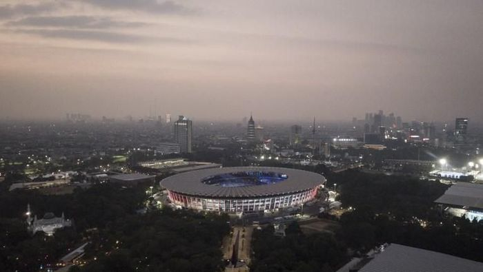 Stadion Utama gelora Bung Karno (SUGBK) akan menjadi lokasi opening ceremony Asian Games 2018. (Fred Dufour/AFP)