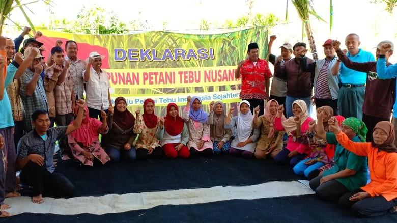 Petani Tebu di Kediri Deklarasi Himpunan Petani Tebu Nusantara