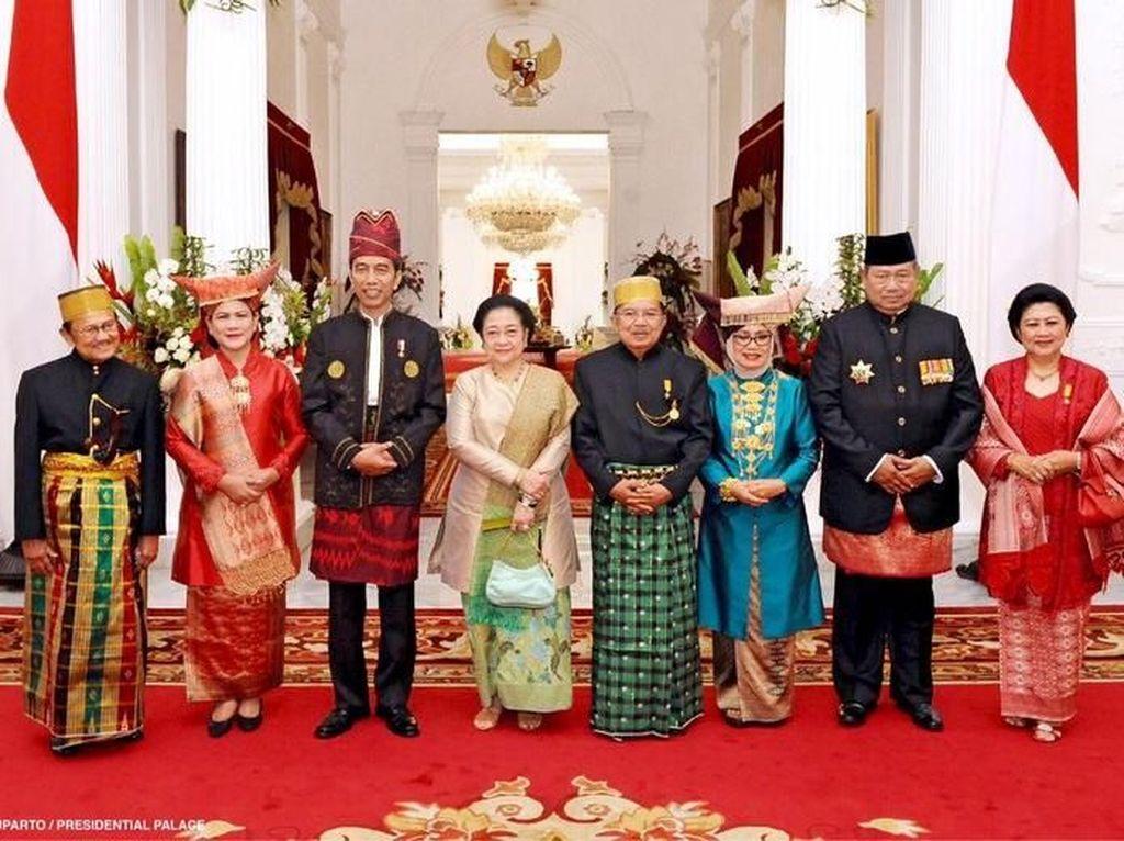 SBY Tak Ikut Upacara HUT ke-73 RI di Istana, PD: Masih di Luar Kota