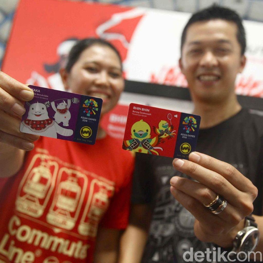 Peluncuran Kartu Multi Trip Kereta Edisi Asian Games