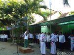 Cak Imin Jadi Irup Kemerdekaan Ala Santri di MIN Jejeran Bantul