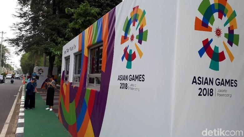 Polisi-TNI Jaga Ketat Pembukaan Asian Games 2018