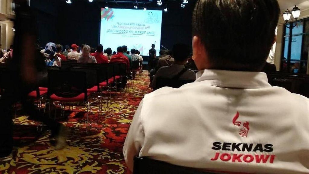 Si Seksi Seknas Jokowi Dirayu Dukung Kandidat Capres 2024, Siapa Dia?