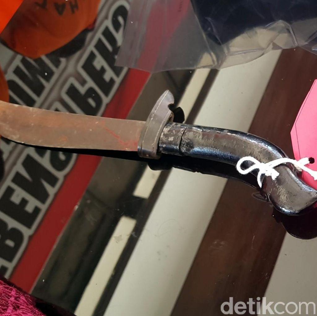 Horor Pembacokan di Sukabumi, Polisi Sita Golok Bernoda Darah