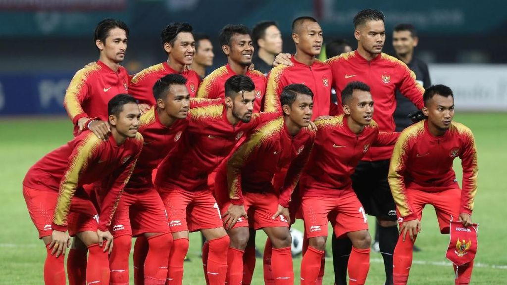 Sepakbola Asian Games 2018: Head-to-Head Laos vs Indonesia