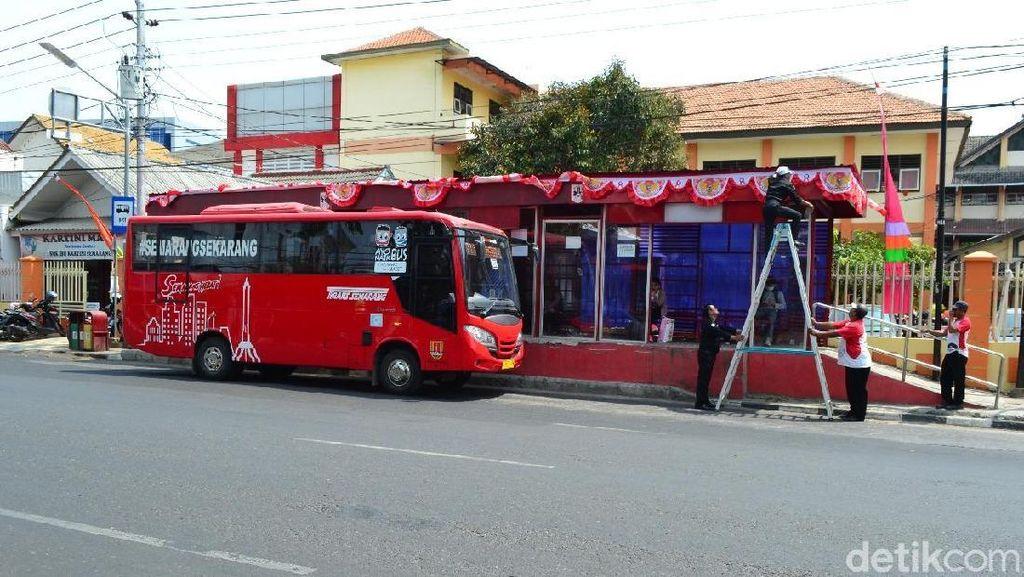 HUT Kemerdekaan RI, Naik Trans Semarang Cukup Bayar Rp 73