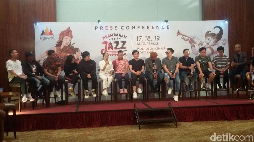 Prambanan Jazz 2018 Tampilkan Lebih Banyak Kolaborasi Musisi