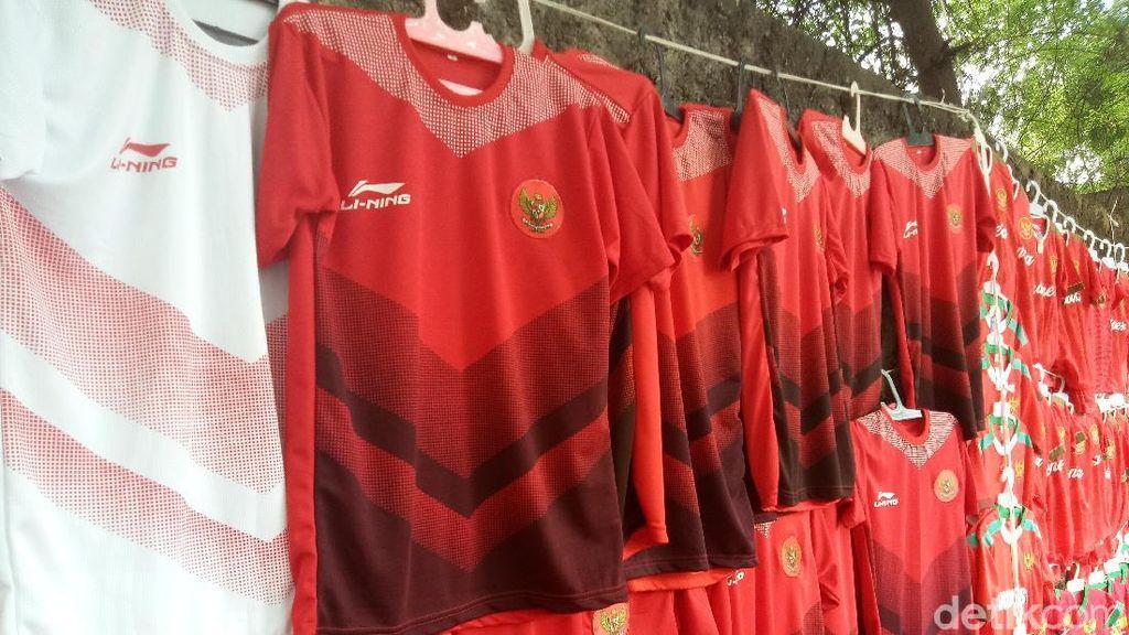 Jersey Baru Timnas Indonesia Diburu Suporter