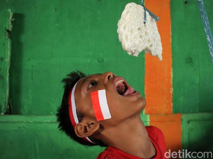 Untuk merayakan hari kemerdekaan 17 Agustus, ini 10 lomba kreatif dan lucu. (Rifkianto Nugroho/detikcom)