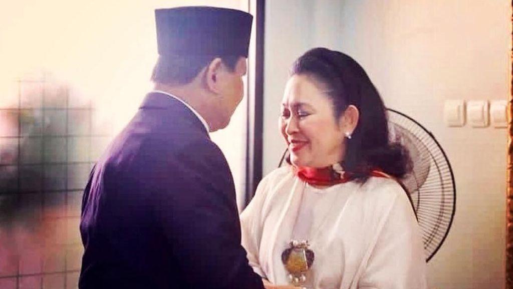 Tutut Posting Foto Prabowo, Titiek dan Didit: Semoga Jadi Keluarga Bahagia