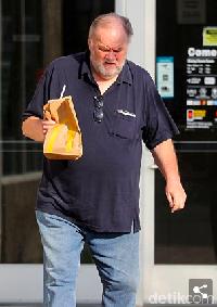 Terungkap! Ini Alasan Ayah Meghan Markle Gemar Makan di Resto Cepat Saji