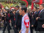 Lagu Dewa 19 Berkumandang di Istana Temani Jokowi Sapa Tamu