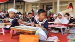 Meriahkan HUT RI, Ratusan Anak Lomba Gambar Kapal