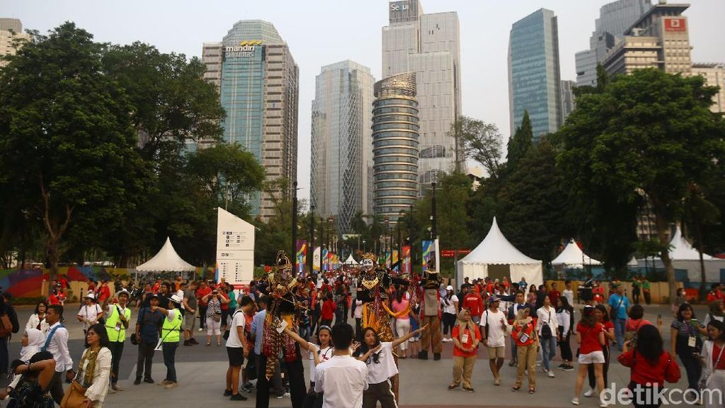 Ronal dan Tike Pandu Acara Pembukaan Asian Games 2018