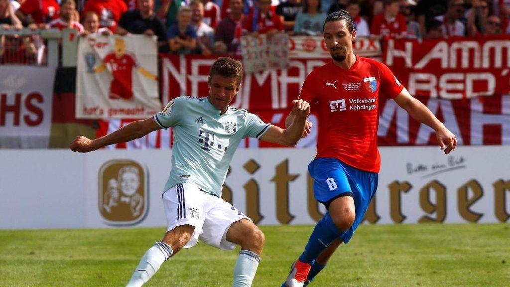 Bayern Cuma Menang 1-0 atas Tim Divisi Empat