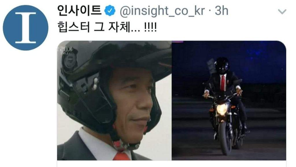 Mengenal Jenis Helm Modular yang Dipakai Jokowi