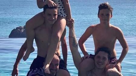 Family Time Keluarga David Beckham di Bali dan Sumba