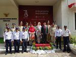 Pekik Merdeka Polisi-Tentara Kamboja di Peringatan HUT ke-73 RI