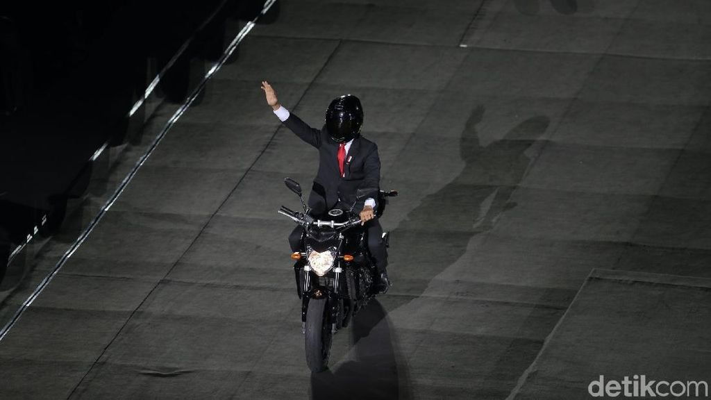 Motor Paspampres yang Dipakai Jokowi Bukan Vixion Apalagi Byson