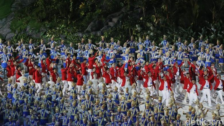 Indonesia dan Brunei Kontingen Tergemuk & Terkurus Asian Games 2018
