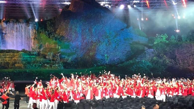 Pengibaran Bendera Lengkapi Opening Ceremony Asian Games 2018