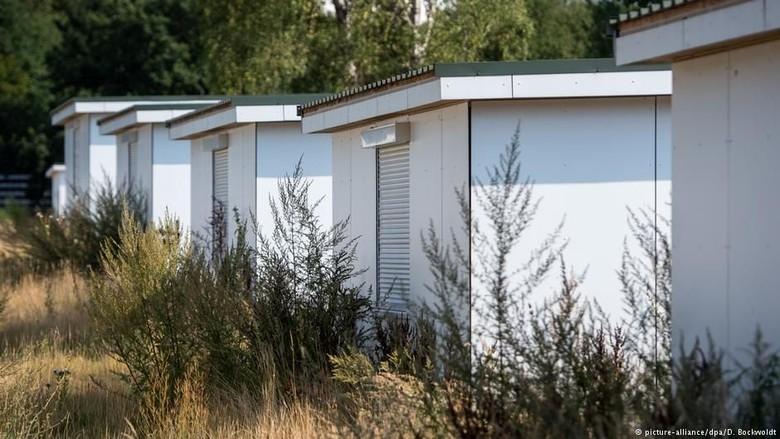 Kota Hamburg Jual Rumah Kotak Bekas Penampungan Pengungsi