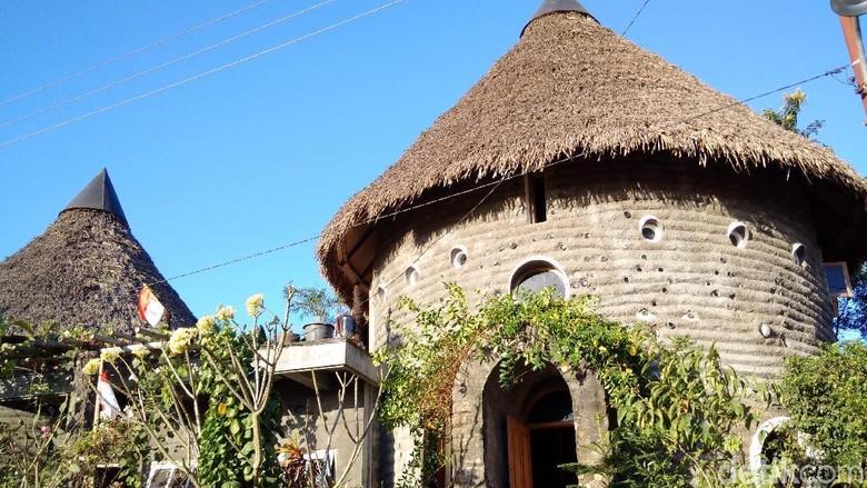 Siapa Sangka Rumah Cantik di Sleman Ini Terbuat dari Tahi Sapi