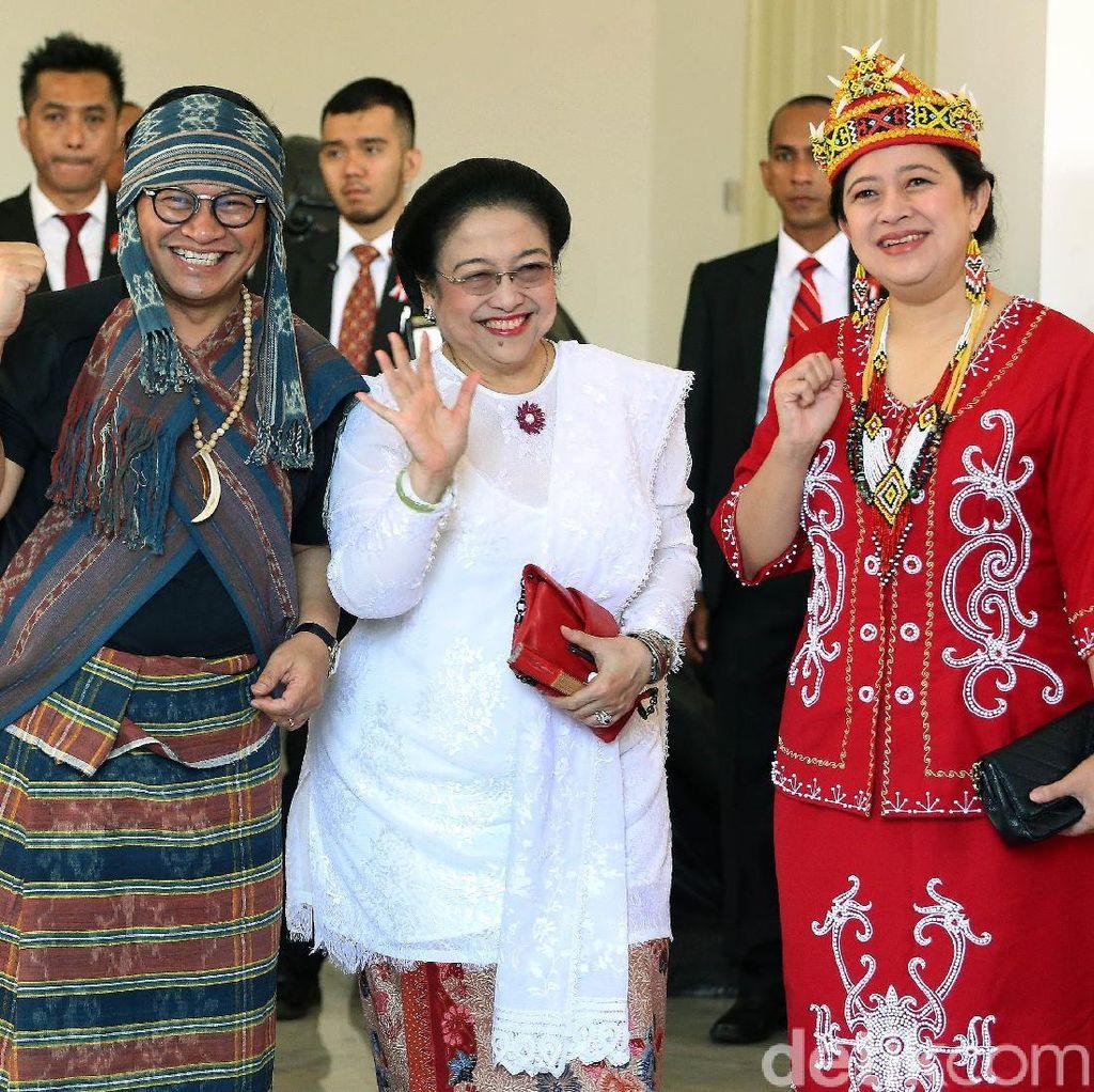 Cinta Indonesia! Adu Gaya Para Pejabat Pakai Baju Adat di HUT ke-73 RI