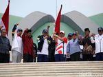 Kirab Obor Asian Games 2018 Tiba di Gedung DPR