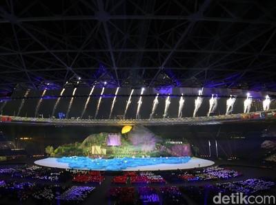 Menpar Puas dengan Opening Asian Games yang Jadi Perhatian Dunia