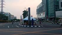 Jelang Pembukaan Asian Games, Lalin Sekitar Senayan City Sepi