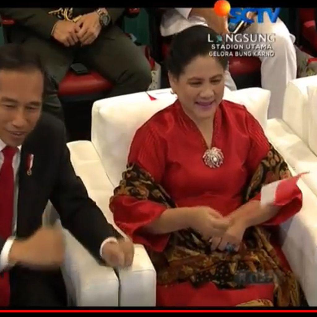Netizen Soroti Goyang Ngepel Presiden Jokowi