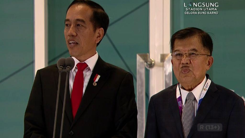 Jokowi Resmi Buka Asian Games 2018
