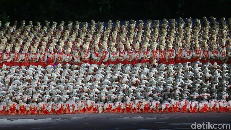 Tantangan Denny Malik Latih Ribuan Penari untuk Pembukaan Asian Games