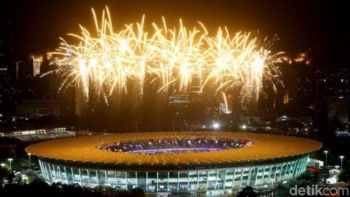 Tiket penutupan Asian Games 2018 mulai bisa dibeli Selasa (28/8/2018) (Foto: Grandyos Zafna)