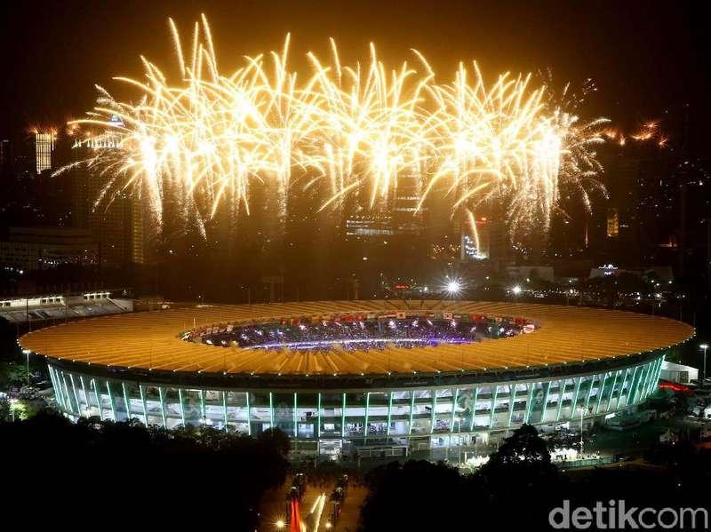 Menteri hingga Politikus Terkesan Spektakuler Opening Asian Games