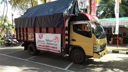 Sekar Telkom Salurkan Bantuan ke Korban Gempa Lombok