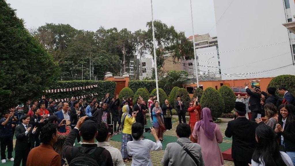 Begini Kemeriahan Perayaan HUT RI di Peru dan Belanda