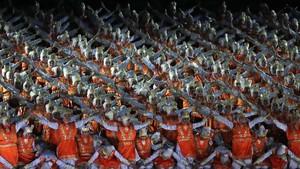Honor Ramai Dibahas, Lihat Lagi Aksi Penari di Opening Asian Games